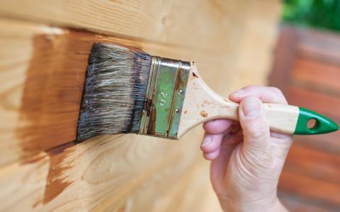 manutenzione del legno