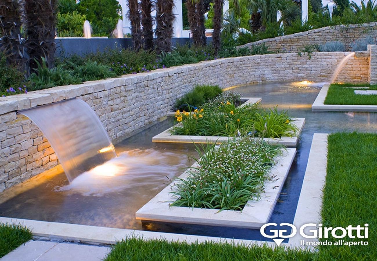 Laghetti e fontane da giardino girotti il mondo all 39 aperto - Giardino d acqua ...