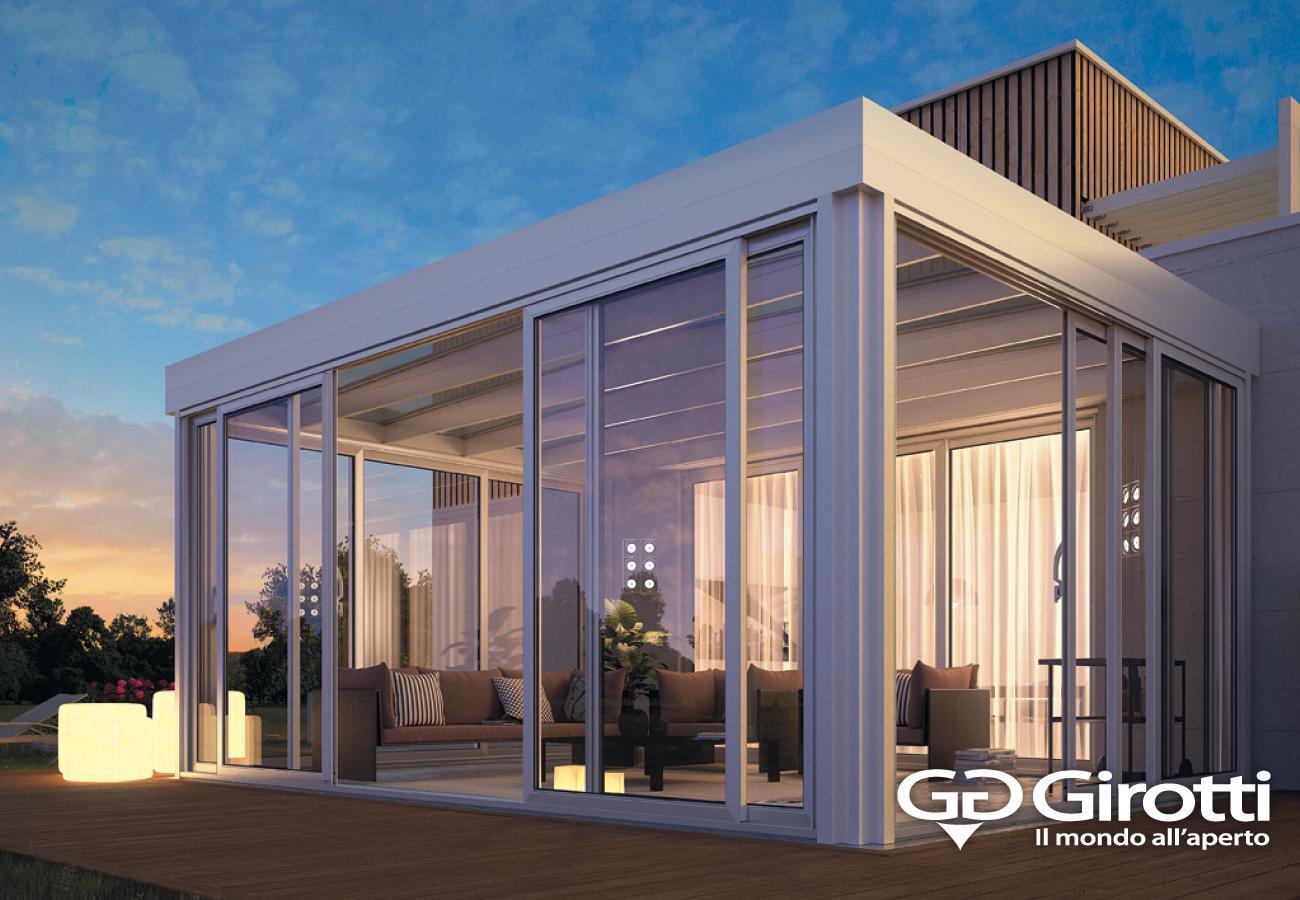 Giardini d 39 inverno girotti il mondo all 39 aperto - Strutture in alluminio per esterno ...