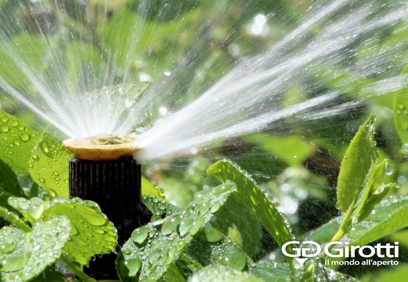 Irrigazione fai da te girotti il mondo all 39 aperto for Spruzzi irrigazione