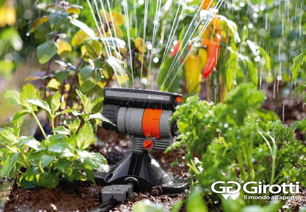Irrigazione fai da te girotti il mondo all 39 aperto for Sistema irrigazione fai da te