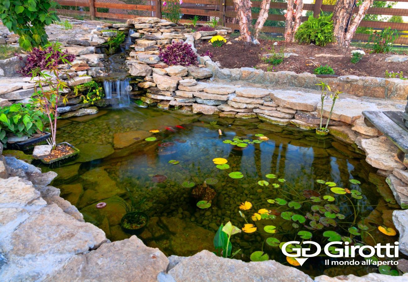 Laghetti da giardino per tartarughe giardini duacqua for Teli laghetto giardino