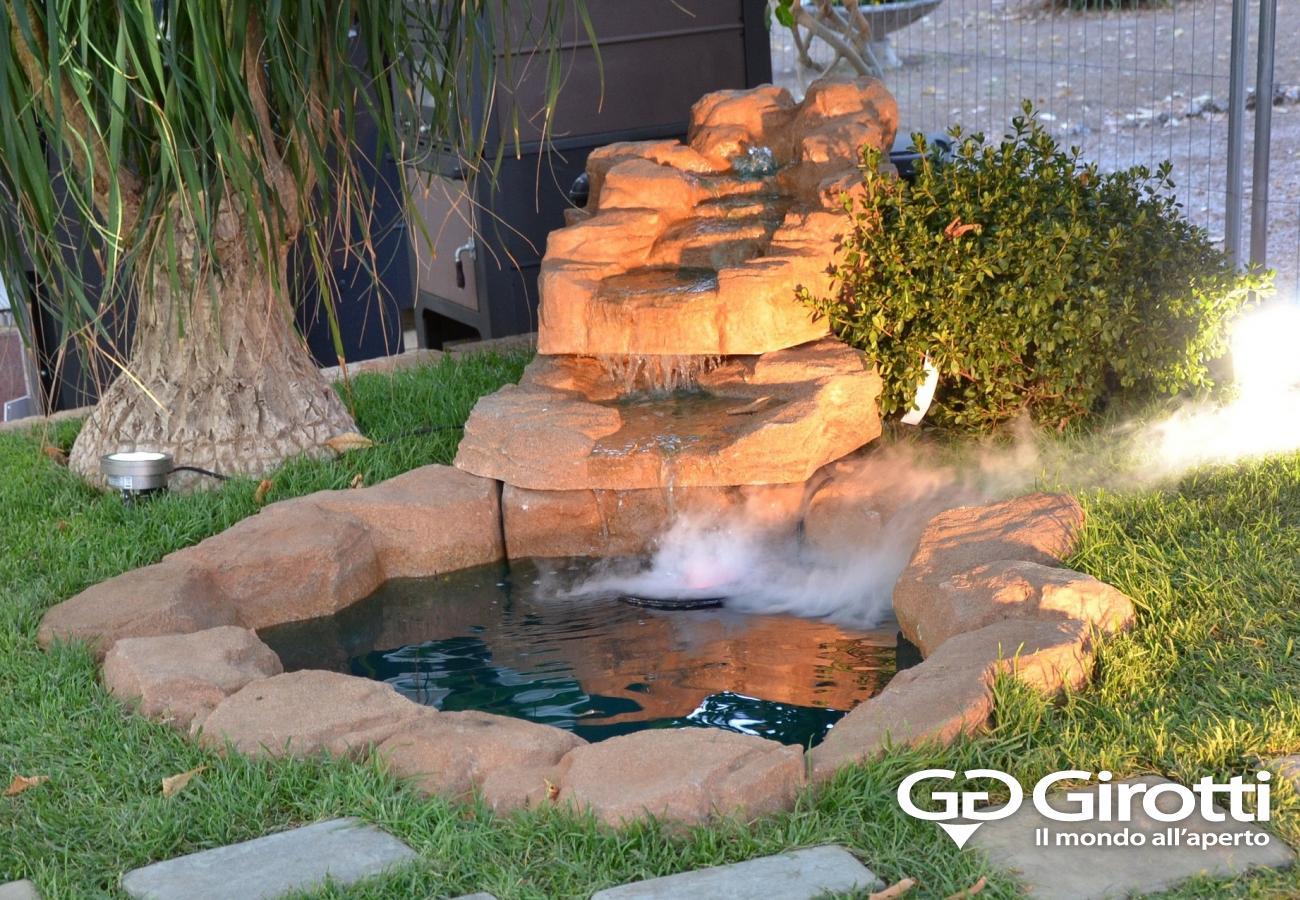 Laghetti e fontane da giardino girotti il mondo all 39 aperto for Sassi per tartarughe
