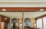 NOTTE DEGLI OSCAR - struttura in legno con telo impermeabile apribile + ermetiche laterali in pvc