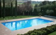piscina interrata a skimmer con rullo
