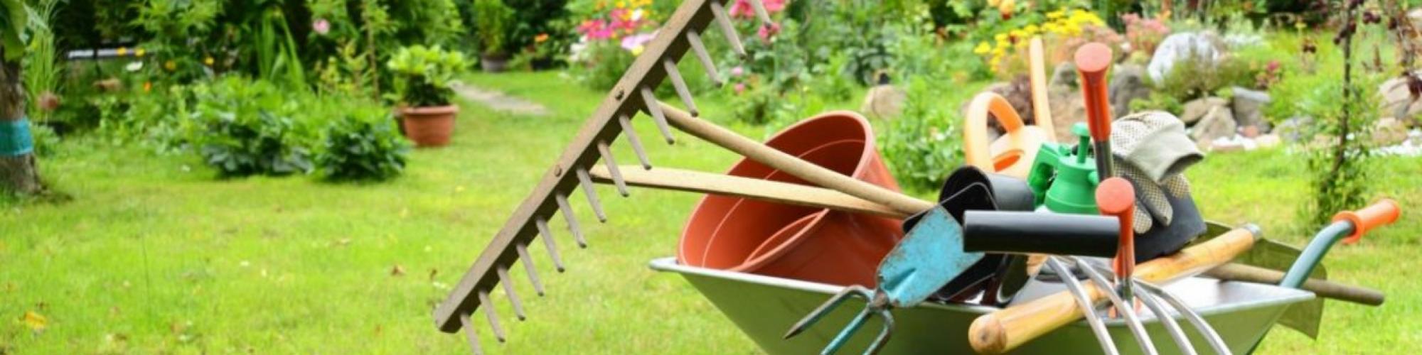 attrezzi e macchinari da giardino