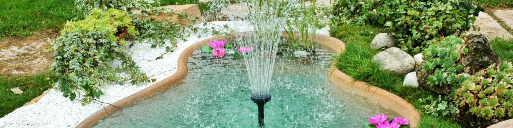 Laghetti e fontane da giardino girotti il mondo all 39 aperto - Laghetti da giardino fai da te ...
